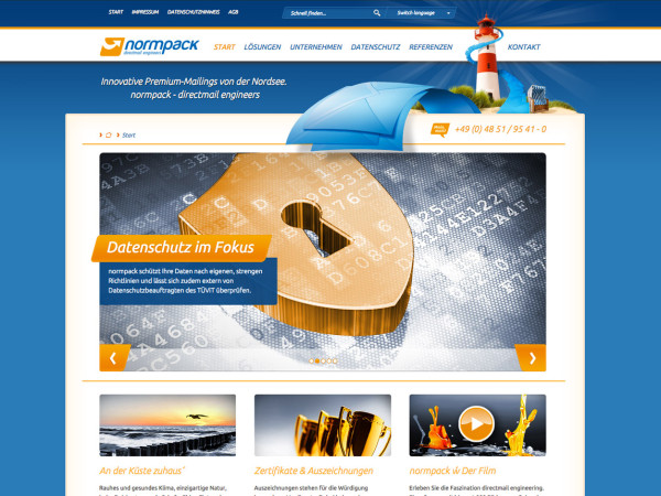 normpack GmbH – directmail engineers
